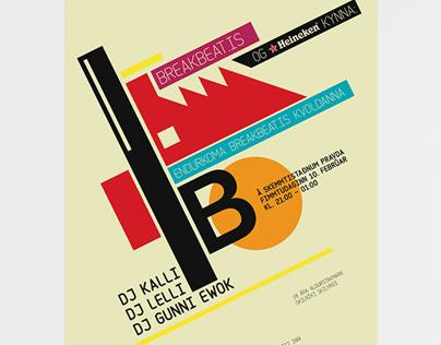 Breakbeat.is posters