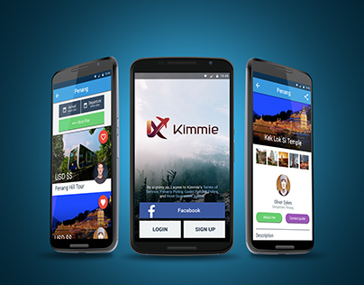 Kimmie Mobile App Design Project