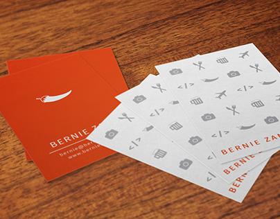 Print Design // Bernie's Business Cards