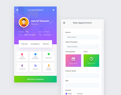 Patient Profile Design