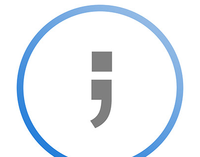Semicolons Official Logo: simplicity redefined