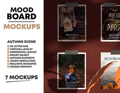MoodBoard Autumn Fall Scenes