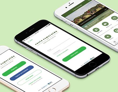 App design- Costa Esmeralda