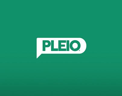 Pleio Corporate Rebrand