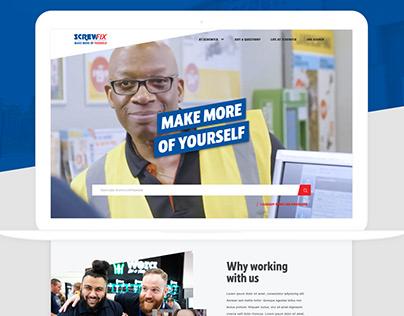 Screwfix | Website re design