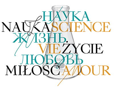 SCIENCE. LIFE. LOVE  identity for festival