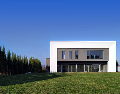 Residential house (realization progress)