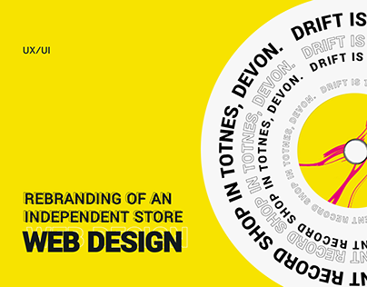 "Rebranding of an independent shop ""Drift"""