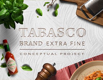 Tabasco Brand Extra Fine Conceptual Project