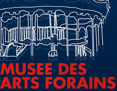 Musee Des Arts Forains - Rebranding