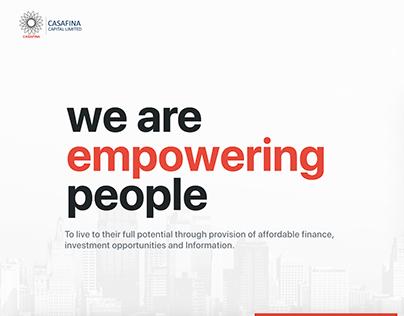 Casafina Website
