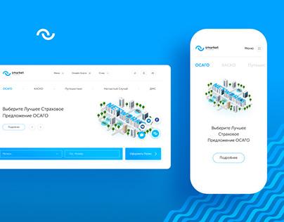 Networks | Web design&Dashboard