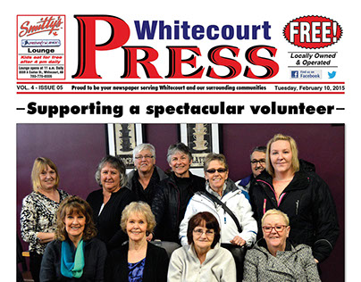 Whitecourt Press weekly newspaper