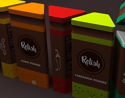 Relish | Modular Spice Packaging | 2018