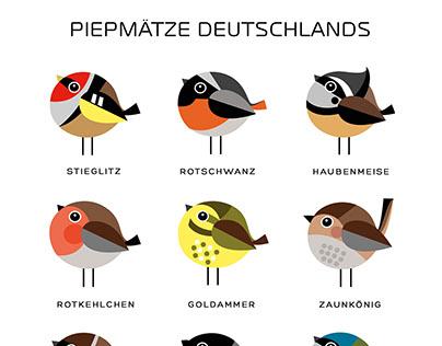 Birds of Germany - Piepmätze Deutschlands