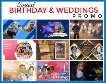 Birthday & Weddings