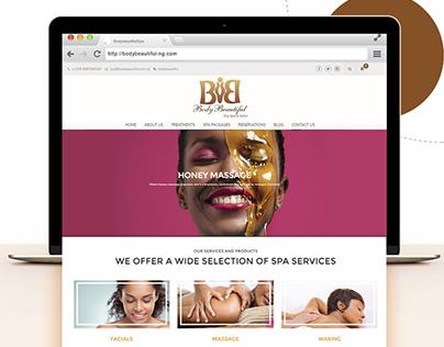 Body Beautiful Website