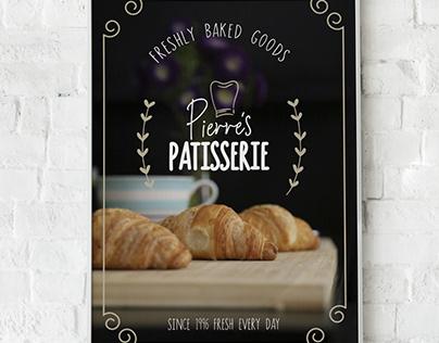 Branding: Pierre's Patisserie