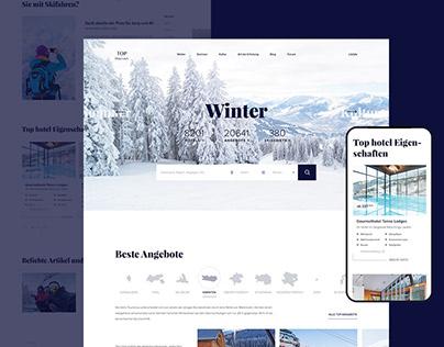 Information platform Search hotels in Austria