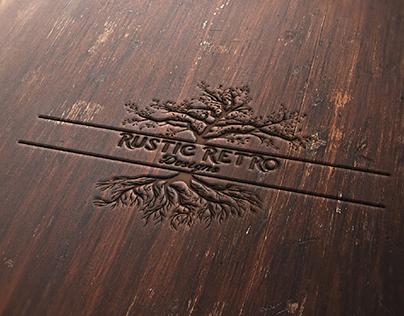 Rustic Retro Logo Design Concept
