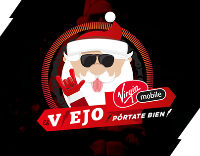 [Virgin Mobile] El viejo Virgin  ⚡Pórtate bien⚡