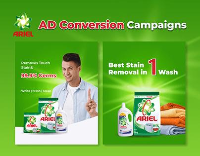 Ariel AD Conversion Campaign