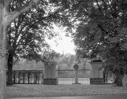 Black&White Photo Tour through Kassel, Germany