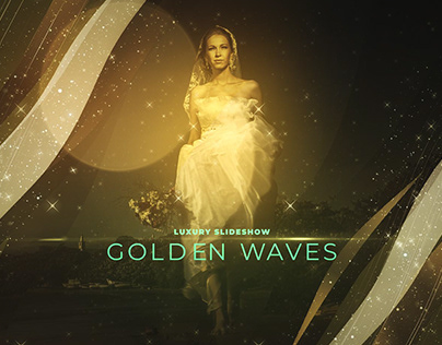Golden Waves Luxury Slideshow