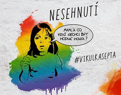 Kampaň pro Nesehnutí: Vikulka se ptá