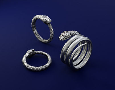 Snake Rings - Custom Jewelry