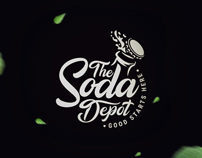 Logo design done for a handcrafted soda label.
