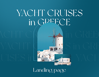 Yacht cruises in Greece - Landing page