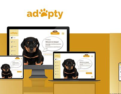 Adopty #AdoptDontShop