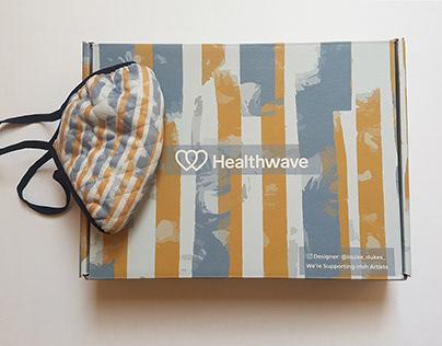 Healthwave Packaging and Mask Design