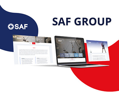 Saf Group | Website Project