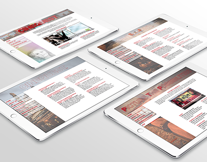 'Cinequest' website, mobile page, and flyer design.