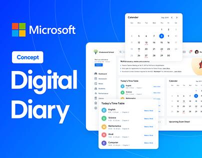 Microsoft Digital Diary COncept