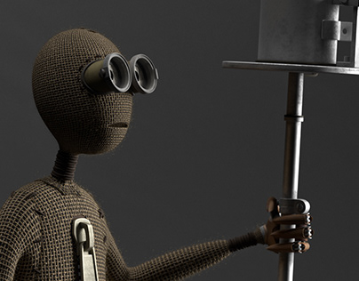 9 Film. Character 3d modeling and rendering