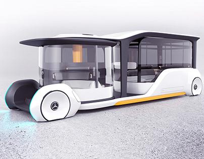 Mercedes-Benz BUS+ | Bachelorthesis | Interior Design