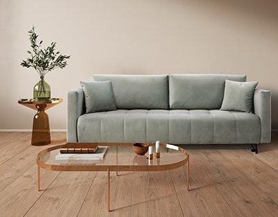 Photoshop sofas arrangements