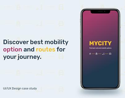 Mycity- Navigation app