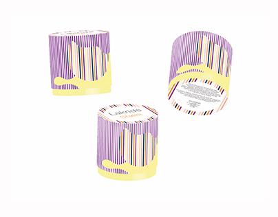 3Dillustration - Lakrids emballage, stærk, sødt og sal