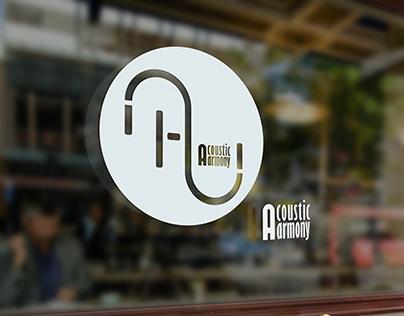 "#Brand | Logo criada para a banda ""Acoustic Harmony"""