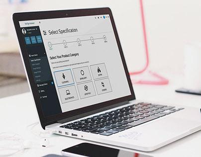Helpreneur - Image Processing Web App Wireframe