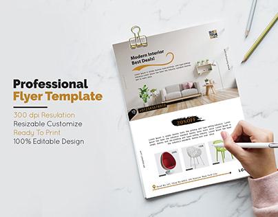 Corporate Flyer Design (Furniture)...