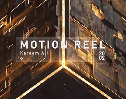 Motion Reel | 2020