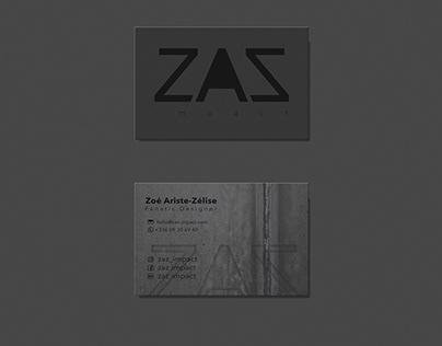 ZAZ impact brand identity
