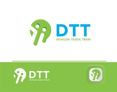 DTT logo Design