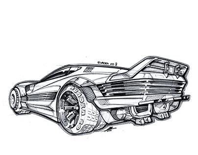 "DriveTribe Illustrations: ""Academic Driving"""