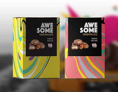 AWESOME Chocolate packaging design